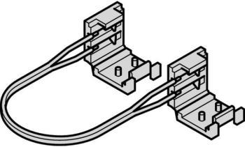 Cavo interconnessione mm 50 con clip per strip LED flessibile