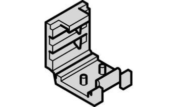 Connettore a clip per la giunzione di strip LED