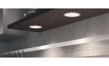 Lampada da applicare LED3002 24V/4,4W 5000K Alluminio Argento