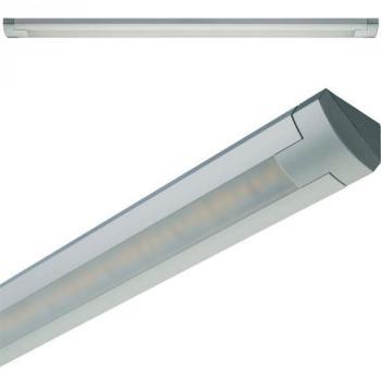Lampada sottopensile da incasso LOOX LED3019 24V/19,0W 4000K Lunghezza 512 mm Argento