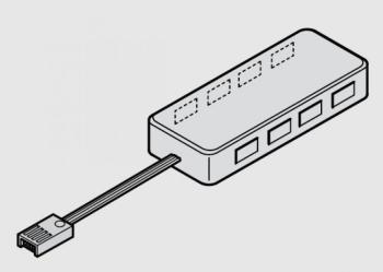 Distributore a 8 vie | LED 3017 - strip LED flessibile multi-white