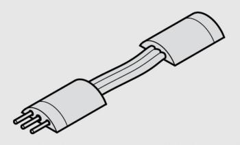 Cavo di Interconnessione 500 mm | LED 3017 - strip LED flessibile multi-white