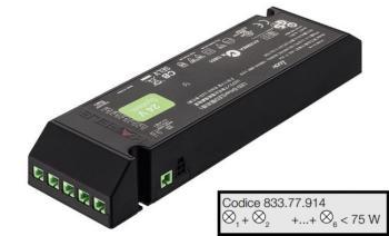 Driver LOOX LED 24V | Potenza 0 - 75W