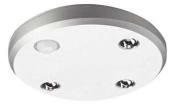 Lampade a batteria - LED 9003 BATTERIA RICARICABILE USB con sensore di movimento Argento