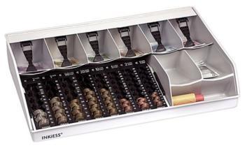 Cassa per monete ufficio e negozi Euro 530 x 330 x 115 mm Plastica
