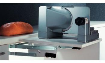 Porta affettatrici ripiani a ribalta per elettrodomestici per larghezza mobile min 450 mm Portata 8 kg