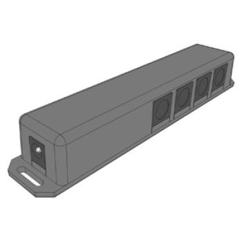 Distributore Hettich per Sistema di apertura elettromeccanica easys
