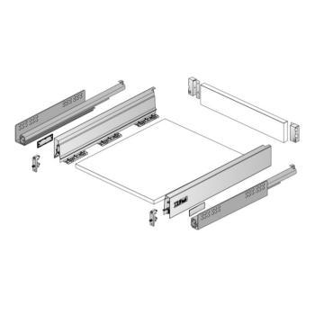 Kit cassetto InnoTech Atira h 70 mm lunghezza nominale  450 x 470 mm da assemblare Bianco