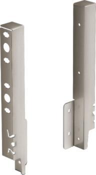kit attacco per pannello posteriore mm 218 inox