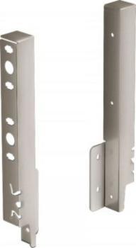 kit attacco per pannello posteriore mm 218 argento
