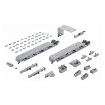 Kit ammortizzatori Silent System 2 ante Sistema per ante scorrevoli TopLine XL