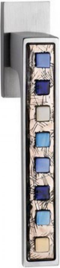 Maniglie per finestre DK Linea Calì serie Brera Cromo Satinato