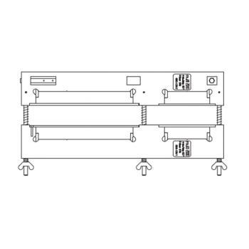 Dima scontro scrocco-porta-alza anta-nottolino A4 (fresata L=210 + L=90)