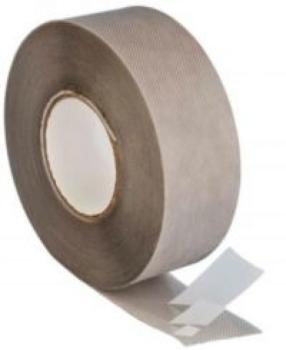 Freno al vapore interna grigio 100 6x25M con strato adesivo a 3 bande separate