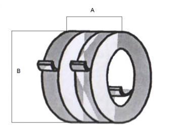 Cisa Molla di ricambio serie 601/T forza 1
