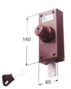 Deviatore verticale Mottura pompa singola interna - Corsa aste 20
