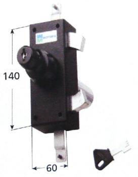 Serratura Mottura per ante e persiane triplice doppia pompa cilindro antistrappo apertura interna con chiave