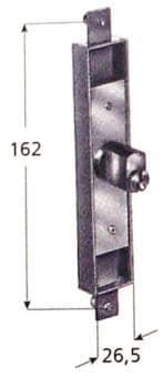 Serratura Prefer per cancelli estensibili - Cilindro 6802