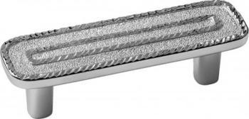 Maniglia interasse 64mm Moonlight silver 100%  Argento