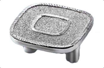 Pomolo interasse 32mm Moonlight silver 100% Argento