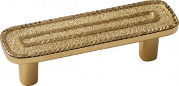 Maniglia interasse 64 mm Imperial gold 24 Kt