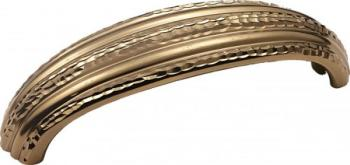 Maniglia per mobile  interasse 128mm Chocolate gold 24Kt