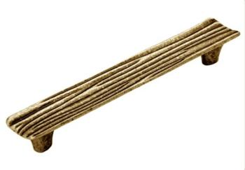 Maniglia per mobile  Interasse 128mm oro valenza