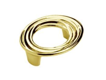 Maniglia per mobile  Interasse 128mm Bagno oro