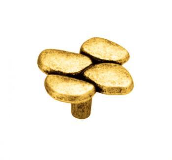 Pomolo per mobile  diametro 49mm Bagno oro