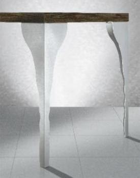 GAMBE PER TAVOLI gamba singola per tavolo altezza mm 267 Verniciato in Alluminio