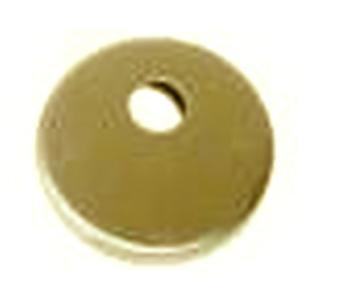 Bocchetta tonda con foro perno per cilindri con codolo Ottone