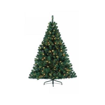 Albero di Natale Pino Imperial 150 cm con 160 Luci