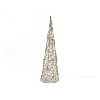 Natale Albero a piramide in Vimini LED 72L