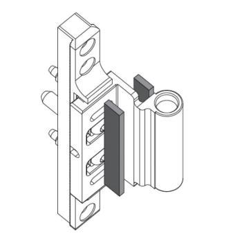 SFS Intec guarnizione adesiva aggiuntiva diametro 15 mm Nera