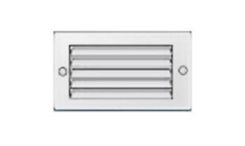 Griglie d'Aerazione Edilplast griglia in metallo 100 x 60 bianco