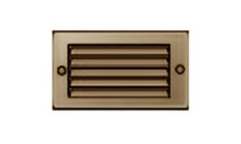 Griglie d'Aerazione Edilplast griglia in metallo 100 x 60 marrone