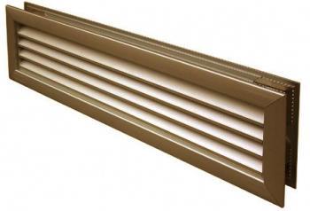 Griglia d'Areazione Edilplast 452x90 griglia accoppiata Bronzo