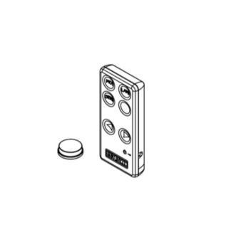 RICAMBIO TELECOMANDO per Servetto Elettrico – Serie 3-Z15 (Batteria Inclusa)