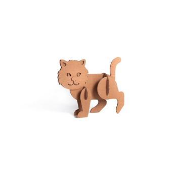Animali di cartone Il Gatto 22 X 28 X 6 cm