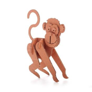 Animali in cartone La Scimmia 15 x 24 x 5 cm Giocattoli