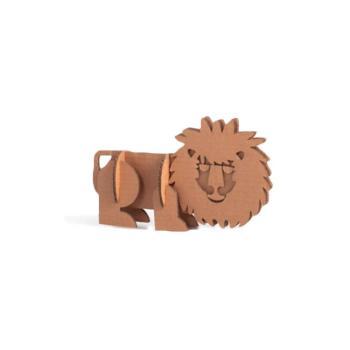 Animali in cartone Il Leone 16 x 28 x 4 cm Giocattoli