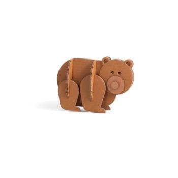 Animali in cartone Orso 15 x 24 x 5 cm Giocattoli