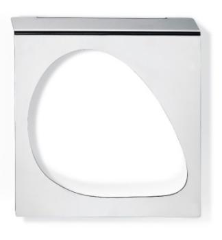 Porta salviette ad anello da parete Bagno Valli Arredobagno serie Worn A 6324 Lucido
