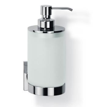 Porta sapone liquido a parete Valli Arredobagno serie Slim B 6223 Cromo
