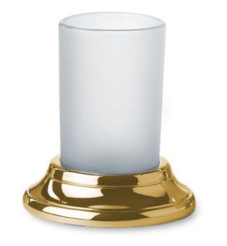 Bicchiere Portaspazzolino design classico Valli Arredobagno serie Medea C 6042  Orozecchino