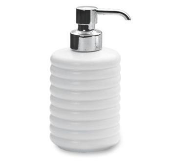 Porta sapone liquido da appoggio Valli Arredobagno serie Rolling L 6403