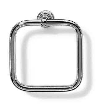 Porta salviette ad anello da parete Bagno Valli Arredobagno serie Vittoria A 6345 Cromo