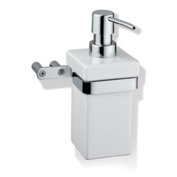 Porta sapone liquido a parete Valli Arredobagno serie Now B 7322 Bianco