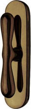 Valli & Valli serie H 1003 Croco maniglia per finestre cremonese Anticato
