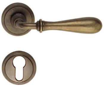 Valli & Valli serie H 1004 Antares Maniglia per porta interna rosetta bocchetta foro yale Brunito